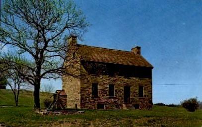 The Stone House - Manassas, Virginia VA Postcard