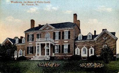 Woodlawn - Mount Vernon, Virginia VA Postcard