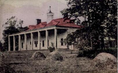 The Home Of Washington - Mount Vernon, Virginia VA Postcard
