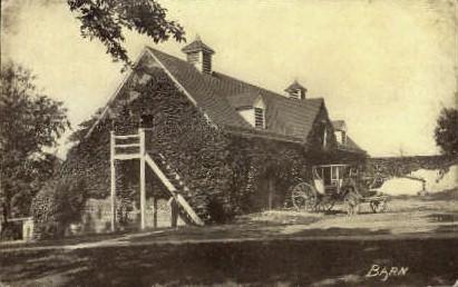 Barn - Mount Vernon, Virginia VA Postcard