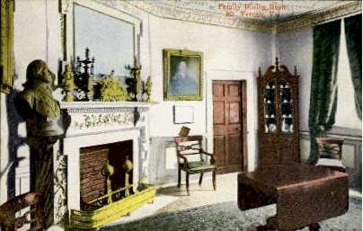 Family Room - Mount Vernon, Virginia VA Postcard