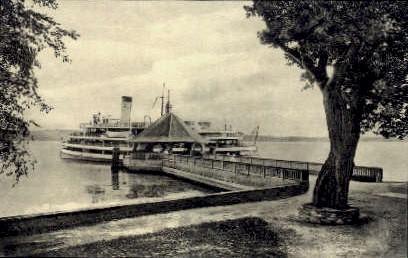 The Wharf - Mount Vernon, Virginia VA Postcard