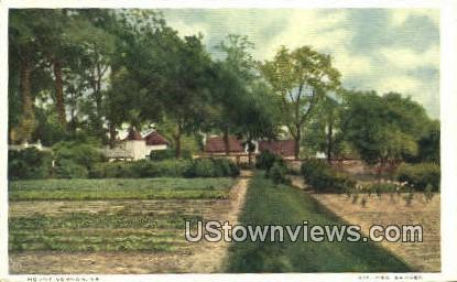 Kitchen Garden - Mount Vernon, Virginia VA Postcard