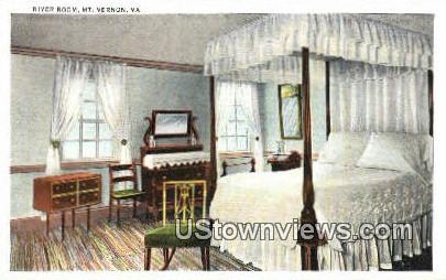 River Room - Mount Vernon, Virginia VA Postcard
