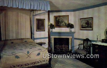 The Blue Bedroom - Mount Vernon, Virginia VA Postcard