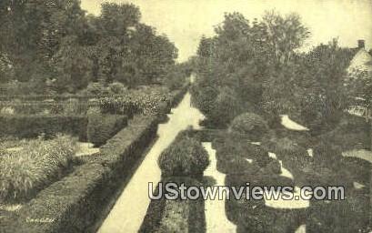 The Gardens - Mount Vernon, Virginia VA Postcard