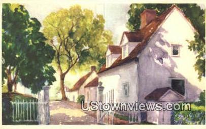 The North Lane - Mount Vernon, Virginia VA Postcard