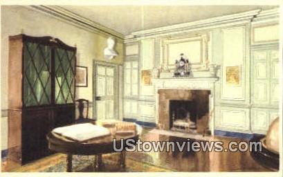 The Library - Mount Vernon, Virginia VA Postcard