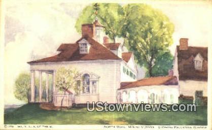 North Wing - Mount Vernon, Virginia VA Postcard