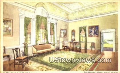 The Banquet Hall - Mount Vernon, Virginia VA Postcard