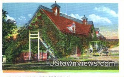 Gardens - Mount Vernon, Virginia VA Postcard