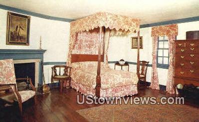 The Lafayette Bedroom - Mount Vernon, Virginia VA Postcard