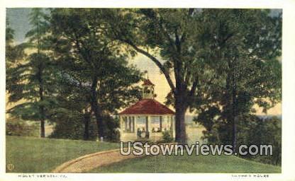 Summer House - Mount Vernon, Virginia VA Postcard