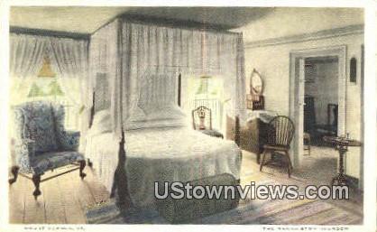 The Washington's Bedroom - Mount Vernon, Virginia VA Postcard