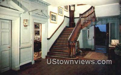 Central Hall - Mount Vernon, Virginia VA Postcard