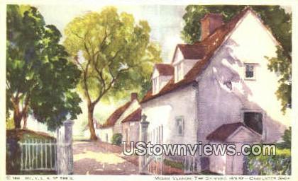 The Spinning Room - Mount Vernon, Virginia VA Postcard