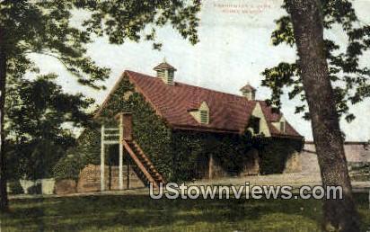 Washington Barn - Mount Vernon, Virginia VA Postcard