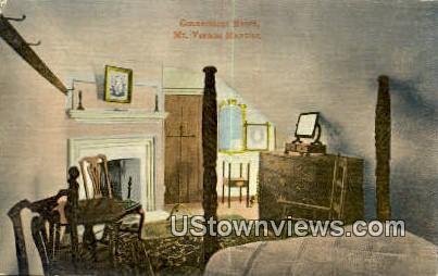Connecticut Room - Mount Vernon, Virginia VA Postcard