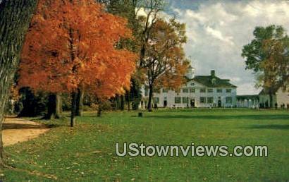 Bowling Green Entrance - Mount Vernon, Virginia VA Postcard