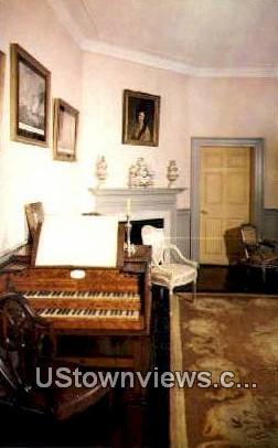The Music Room - Mount Vernon, Virginia VA Postcard