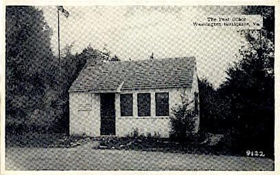 The Post Office - Misc, Virginia VA Postcard