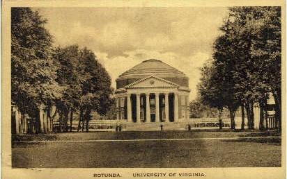 University of Virginia - Misc Postcard
