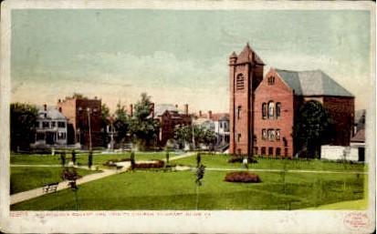 Washington Square - Newport News, Virginia VA Postcard