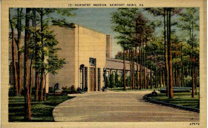 Marines Museum - Newport News, Virginia VA Postcard