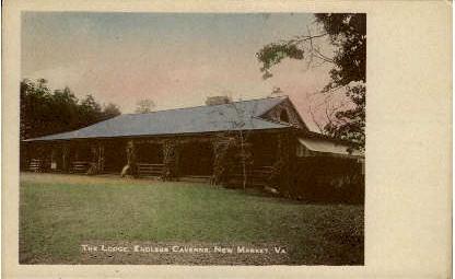 The Lodge  - New Market, Virginia VA Postcard
