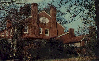 Herring Hall Inn - Natural Bridge, Virginia VA Postcard