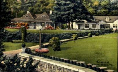 Cottages At Natural Bridge  - Virginia VA Postcard