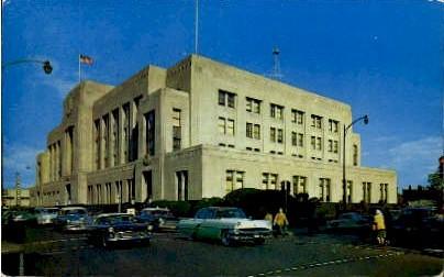 Post Office And Federal Building - Norfolk, Virginia VA Postcard