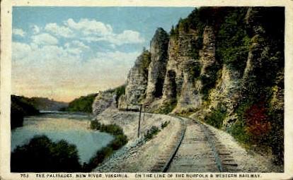 The Palisades - Norfolk, Virginia VA Postcard