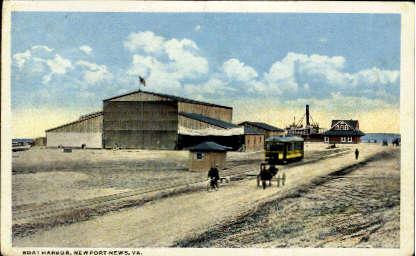 Boat Harbor - Norfolk, Virginia VA Postcard