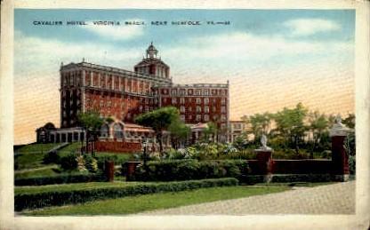Cavalier Hotel - Norfolk, Virginia VA Postcard