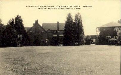 Hermitage Foundation - Norfolk, Virginia VA Postcard
