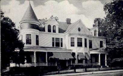 Strother House - Petersburg, Virginia VA Postcard