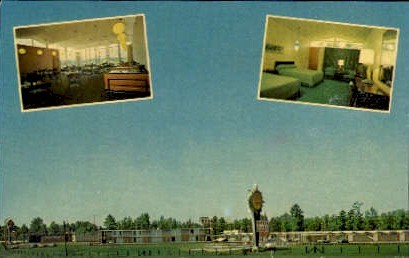 Quality Court Motel, South - Petersburg, Virginia VA Postcard