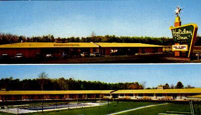 Holiday Inn - Petersburg, Virginia VA Postcard