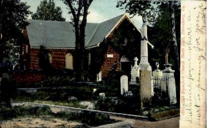 old Blamford Church - Petersburg, Virginia VA Postcard