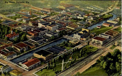 Pulaski, Virginia Postcard