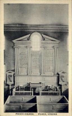Pohick Church - Virginia VA Postcard