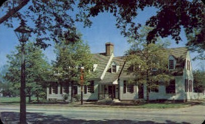 Chownings Tavern - Williamsburg, Virginia VA Postcard