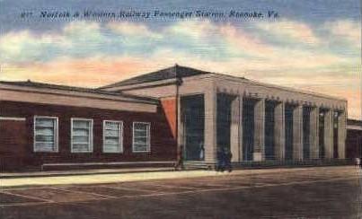 Presbyterian Church - Martinsville, Virginia VA Postcard