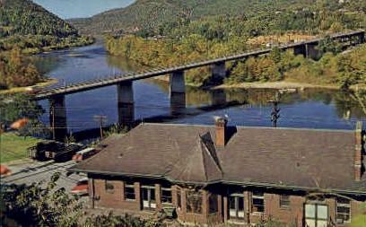 The Narrows of New River - Virginia VA Postcard