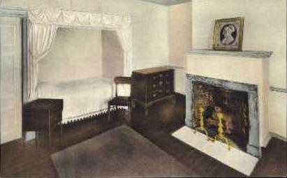 President Madisons Room - Monticello, Virginia VA Postcard