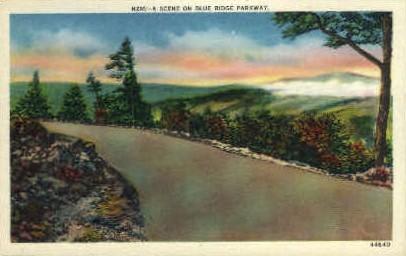 Blue Ridge Parkway - Misc, Virginia VA Postcard