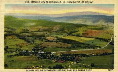 Sperryville,Virginia, VA, Postcard