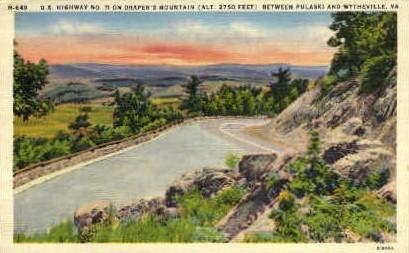 U.S. Highway 11 - Wytheville, Virginia VA Postcard