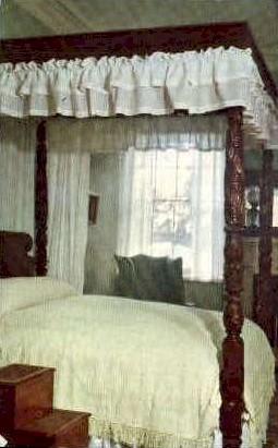 General Lees Bedroom - Misc, Virginia VA Postcard